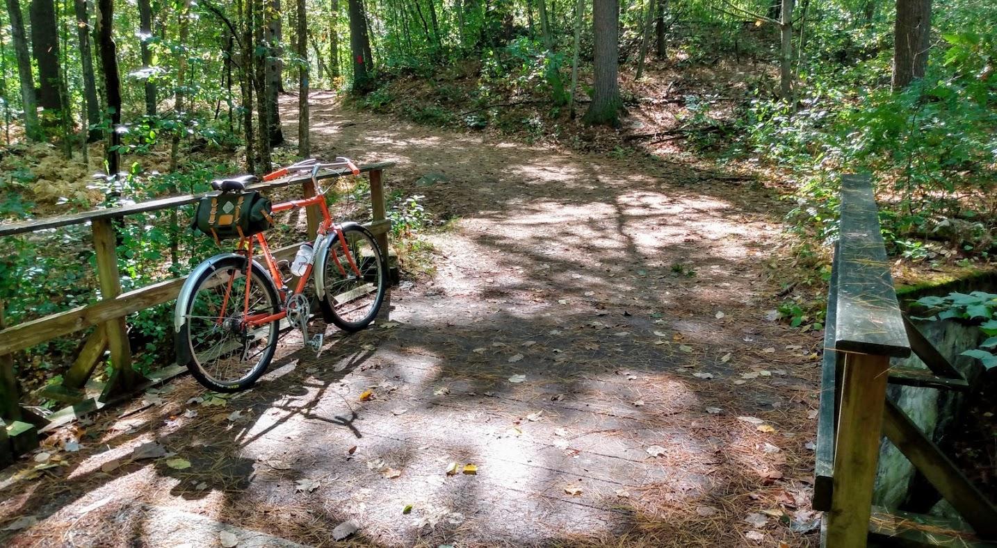 XOXO on trail
